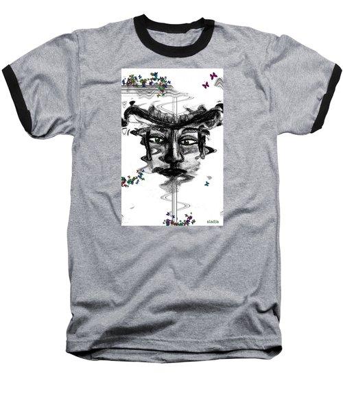 Save Me  Baseball T-Shirt by Sladjana Lazarevic