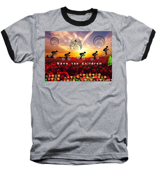 Save The Children Baseball T-Shirt