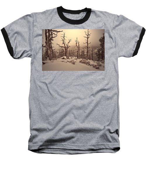 Saving You  Baseball T-Shirt by Mark Ross