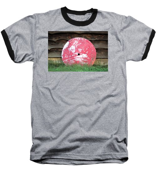 Baseball T-Shirt featuring the photograph Saw Blade by Marion Johnson