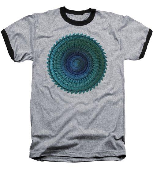 Sawblade Baseball T-Shirt by Lyle Hatch