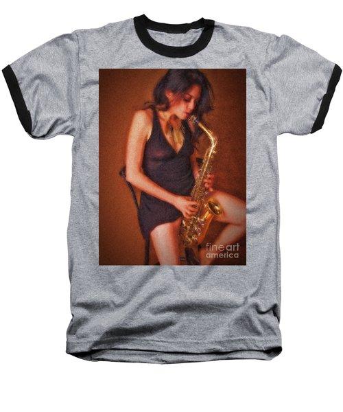 Sax Solo  ... Baseball T-Shirt