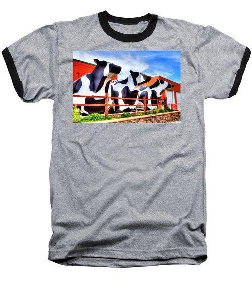 Say Cheese Baseball T-Shirt