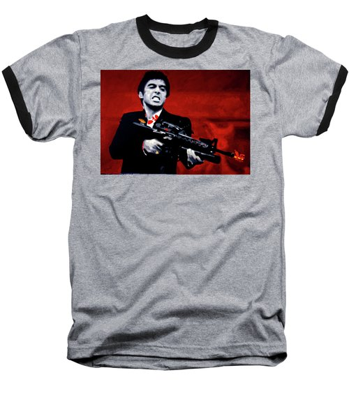 Say Hello To My Little Friend  Baseball T-Shirt