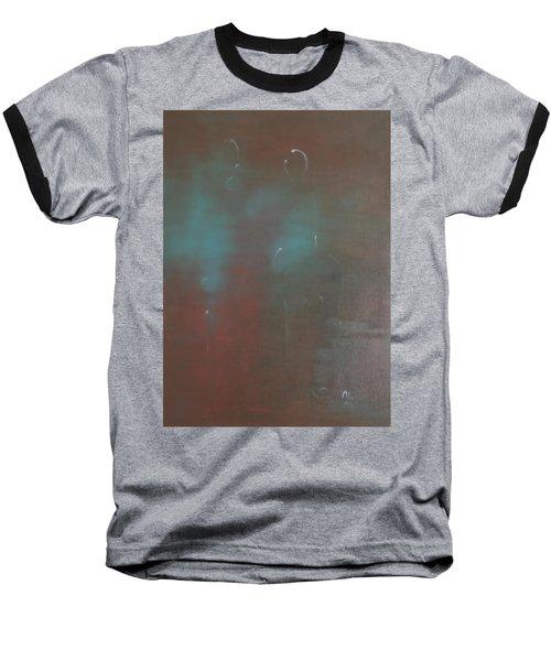 Say Nothing At All Baseball T-Shirt by Min Zou