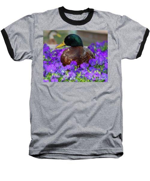 Say Quack Baseball T-Shirt