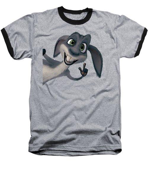 Saying Hi T-shirt  Baseball T-Shirt by Herb Strobino
