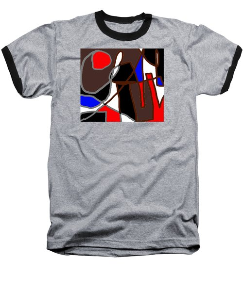 Scandal In Bohemia Original Abstract Expressionism Art Painting Baseball T-Shirt