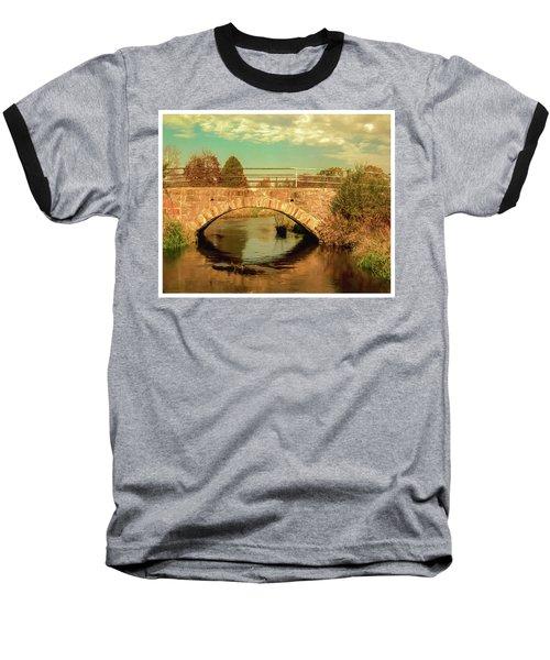 Scandinavia Stone Bridge 1 Baseball T-Shirt by Trey Foerster