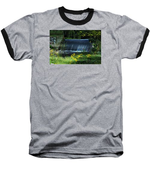 Baseball T-Shirt featuring the photograph Scandinavia  Dam by Judy  Johnson