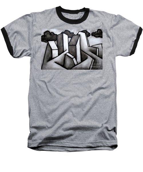 Scape Baseball T-Shirt by Thomas Valentine
