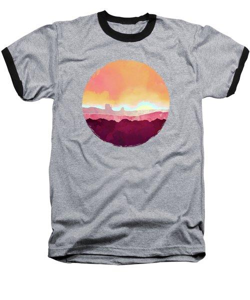 Scarlet Desert Baseball T-Shirt