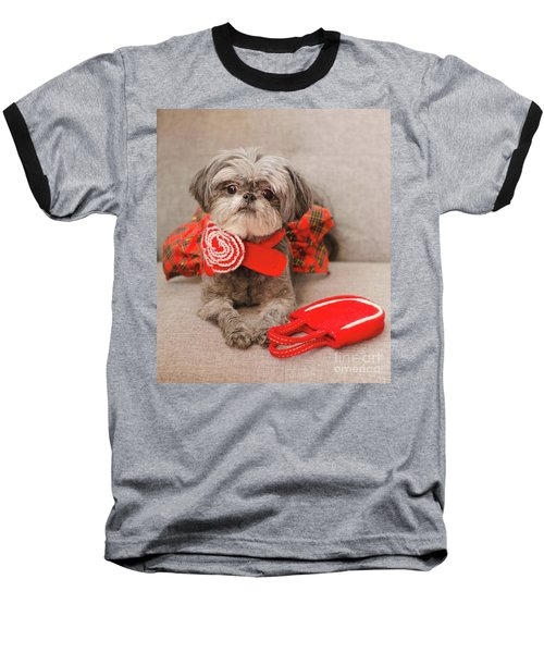 Scarlett And Red Purse Baseball T-Shirt