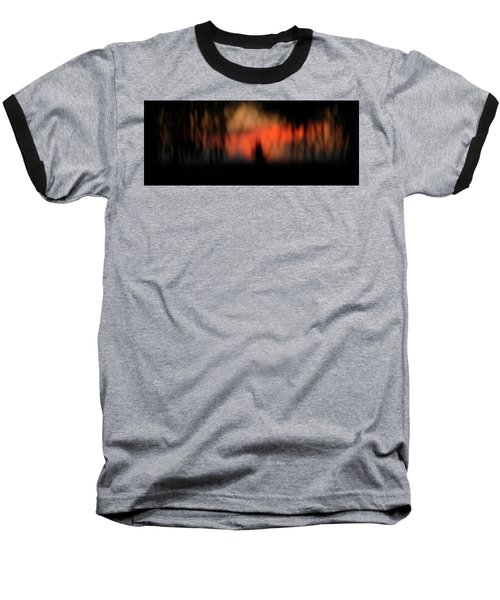Baseball T-Shirt featuring the photograph Scary Nights by Marilyn Hunt