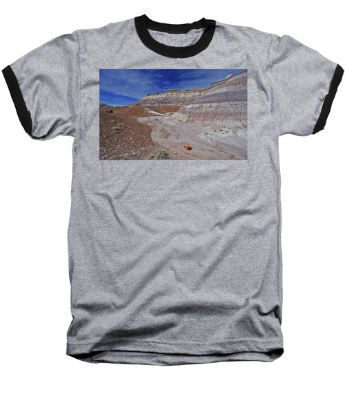 Scattered Fragments Baseball T-Shirt by Gary Kaylor