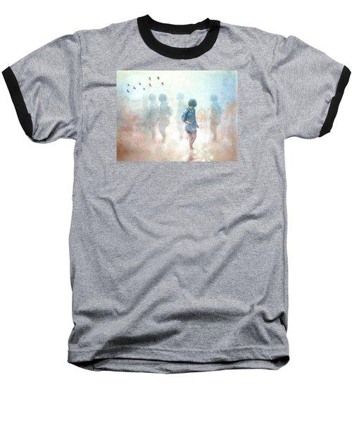 Scavenger--holding The Earth Baseball T-Shirt