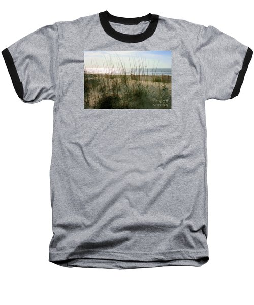 Scene From Hilton Head Island Baseball T-Shirt by Angela Rath