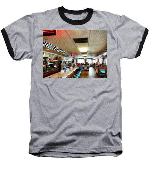 Scenes From A Diner Baseball T-Shirt
