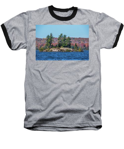 Baseball T-Shirt featuring the photograph Scenic Fall View by Paul Freidlund