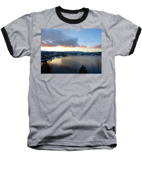 Baseball T-Shirt featuring the photograph Scenic Lake Country by Will Borden
