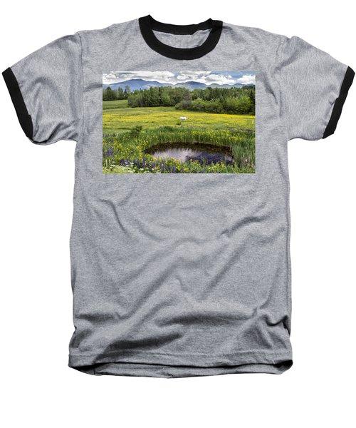 Scenic Pasture Baseball T-Shirt