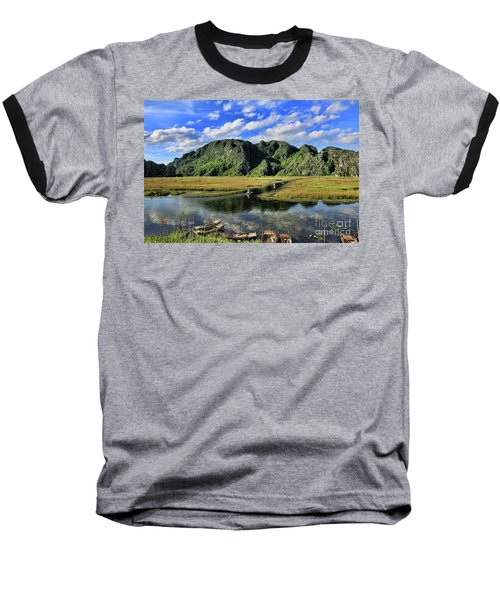 Scenic Route  Baseball T-Shirt by Chuck Kuhn