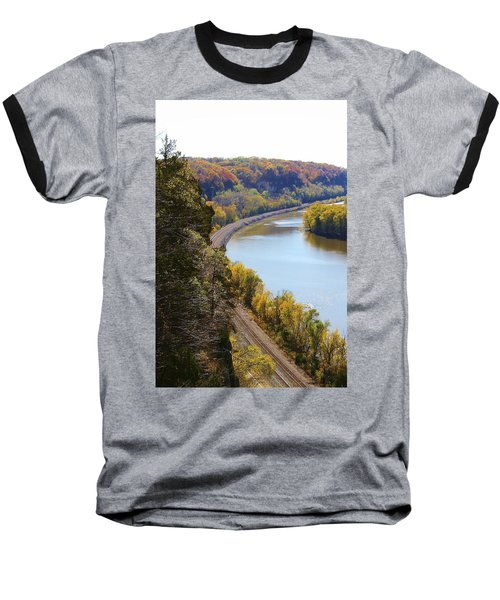 Baseball T-Shirt featuring the photograph Scenic View by Bruce Bley