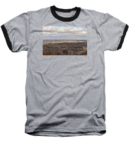 Scenic View Of Montreal Baseball T-Shirt by Reb Frost