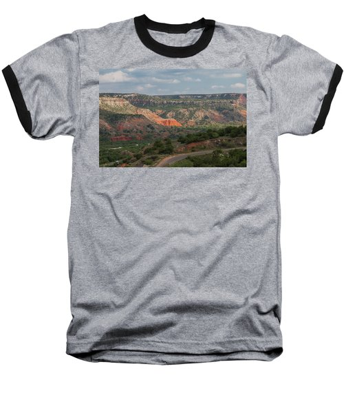 Scenic View Of Palo Duro Canyons Baseball T-Shirt