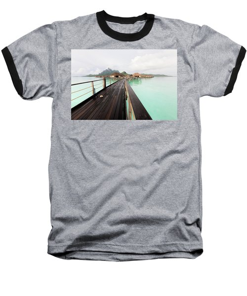 Scenic Walk To The Bungalow Baseball T-Shirt