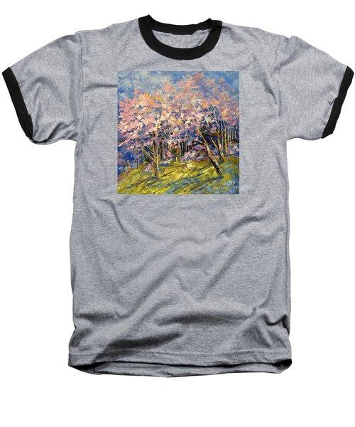 Scented Blooms Baseball T-Shirt by Tatiana Iliina