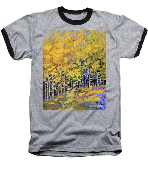 Scented Woods Baseball T-Shirt by Tatiana Iliina