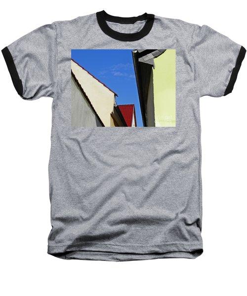 Schierstein Geometrics Baseball T-Shirt by Sarah Loft