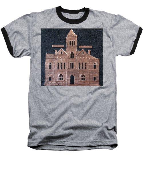 Schley County, Georgia Courthouse Baseball T-Shirt