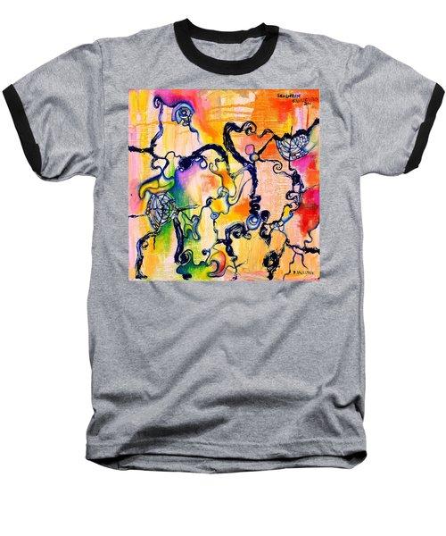 Schlieren Chiarascuro Baseball T-Shirt