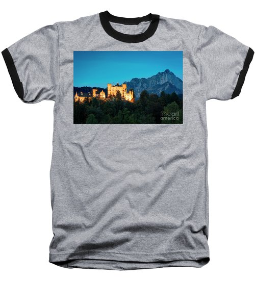 Baseball T-Shirt featuring the photograph Schloss Hohenschwangau by Brian Jannsen