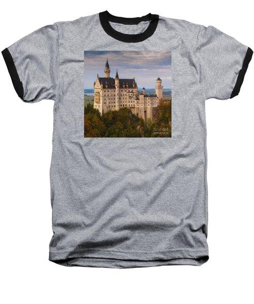 Baseball T-Shirt featuring the photograph Schloss Neuschwanstein by Franziskus Pfleghart