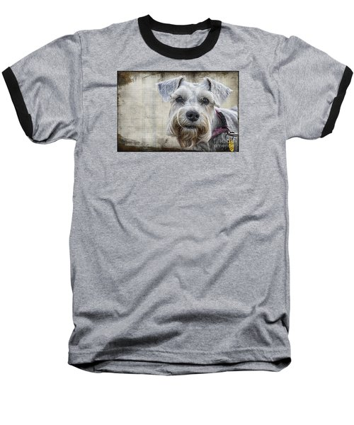 Schnauzer Fellow Baseball T-Shirt