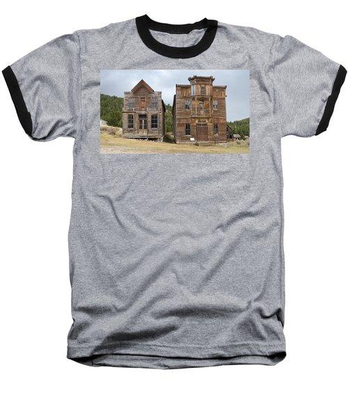 School And Dance Hall Baseball T-Shirt