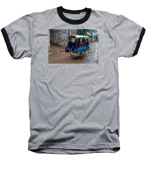 School Cart Baseball T-Shirt