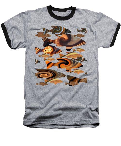 School Of Fish Baseball T-Shirt