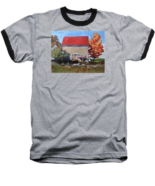 Schoolhouse Farm, Warren, Maine Baseball T-Shirt