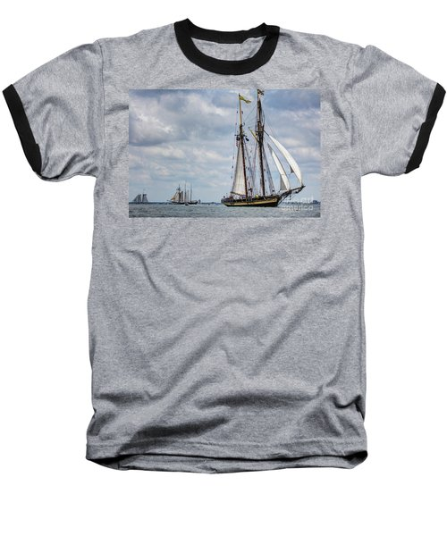 Schooner Pride Of Baltimore Baseball T-Shirt