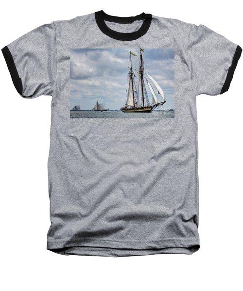 Schooner Pride Of Baltimore Baseball T-Shirt