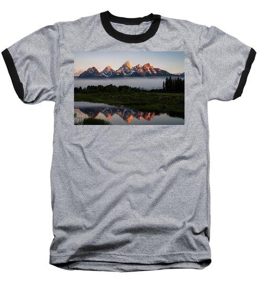 Schwabacher Landing Sunrise Baseball T-Shirt
