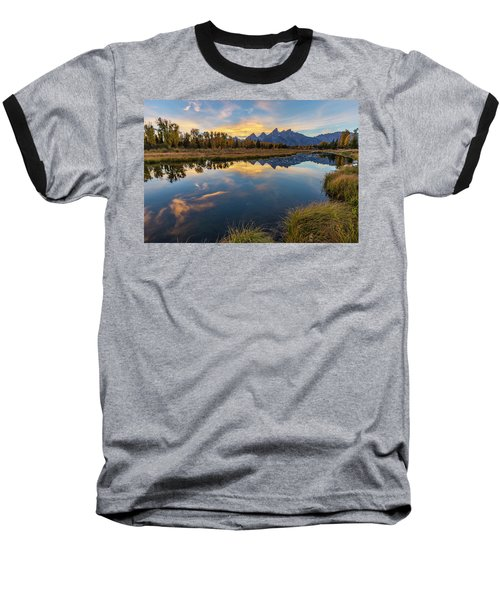 Schwabacher Sunset 1 Baseball T-Shirt