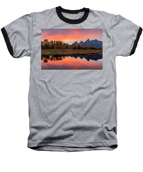 Schwabacher Sunset 2 Baseball T-Shirt