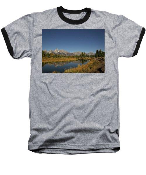 Schwabacher's Landing In Moonlight Baseball T-Shirt