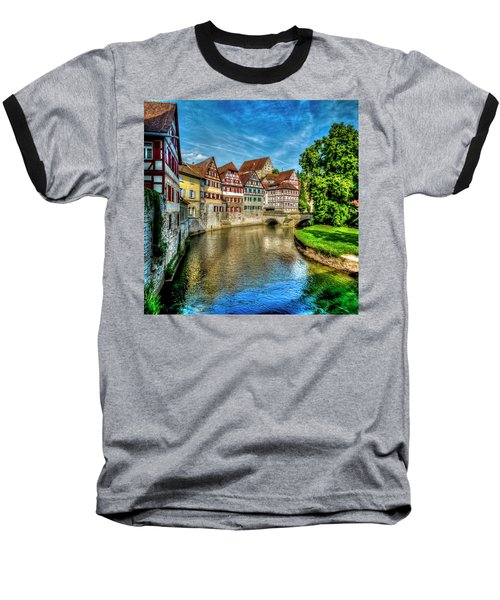 Baseball T-Shirt featuring the photograph Schwabish Hall by David Morefield