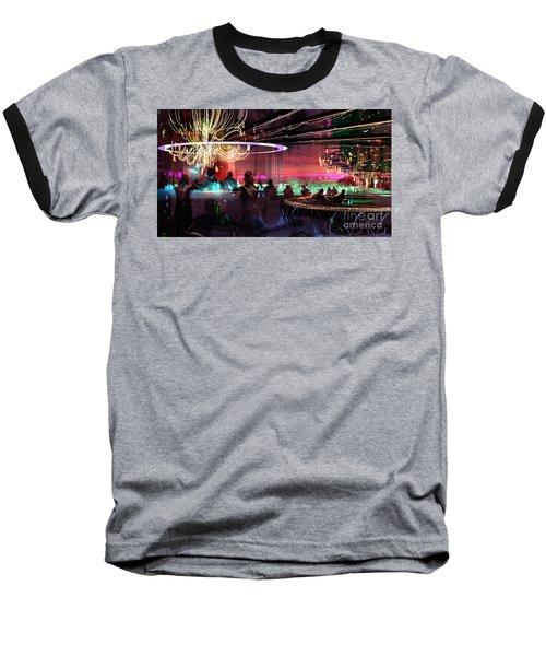 Sci-fi Lounge Baseball T-Shirt